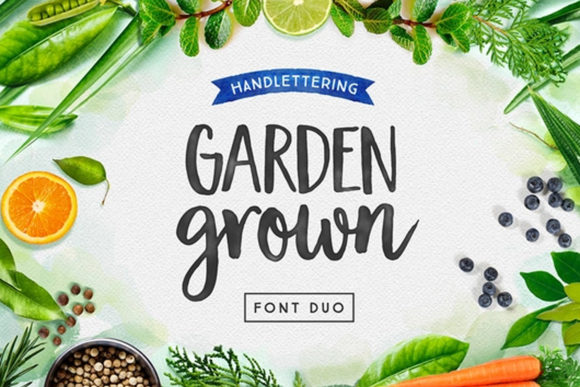 Print on Demand: Garden Grown Script & Handwritten Font By cultivatedmind.types