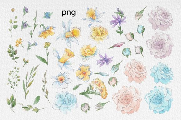 Print on Demand: Hello Spring Graphic Illustrations By nicjulia - Image 13