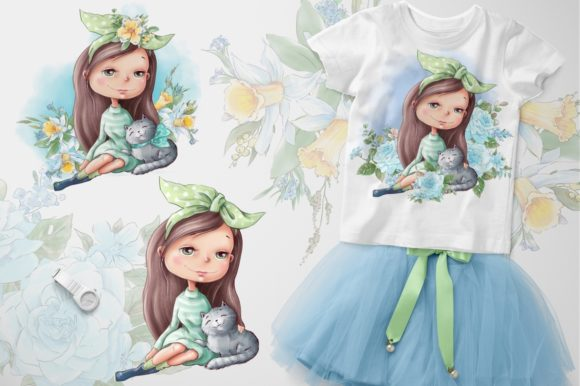 Print on Demand: Hello Spring Graphic Illustrations By nicjulia - Image 2