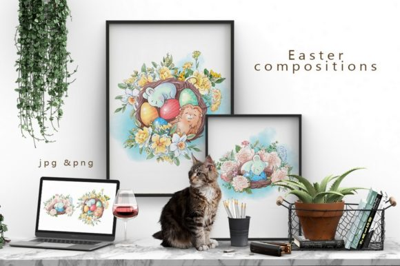 Print on Demand: Hello Spring Graphic Illustrations By nicjulia - Image 20