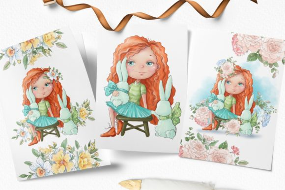 Print on Demand: Hello Spring Graphic Illustrations By nicjulia - Image 4