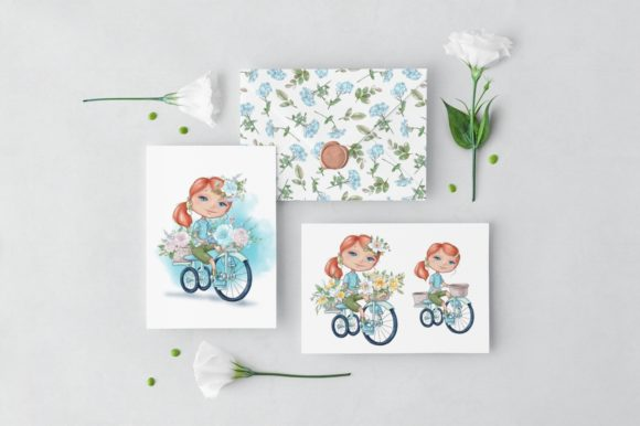 Print on Demand: Hello Spring Graphic Illustrations By nicjulia - Image 6