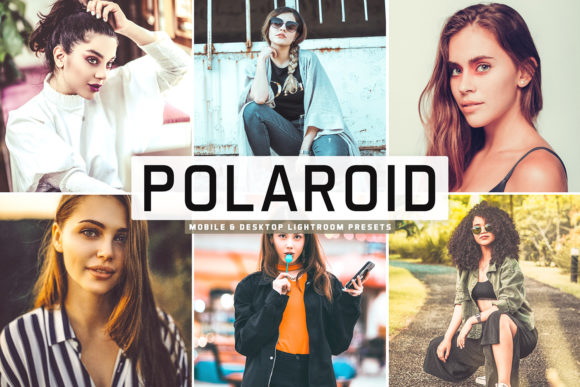 Print on Demand: Polaroid Lightroom Presets Pack Graphic Actions & Presets By Creative Tacos
