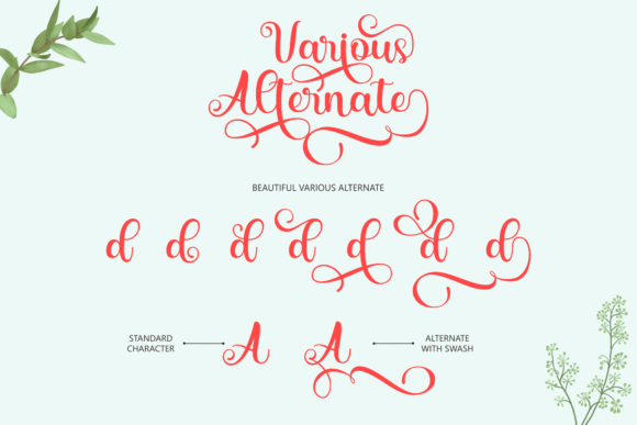 Print on Demand: Saylina Script & Handwritten Font By Holydie Studio - Image 8