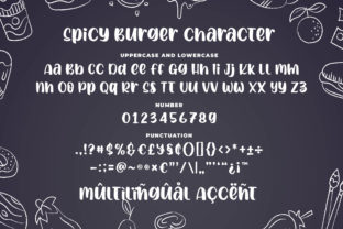 Print on Demand: Spicy Burger Display Font By Blankids Studio 6