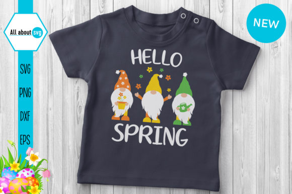 Download Free Spring Gnomes Graphic By All About Svg Creative Fabrica for Cricut Explore, Silhouette and other cutting machines.
