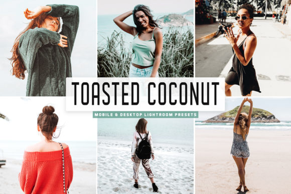 Print on Demand: Toasted Coconut Lightroom Presets Graphic Actions & Presets By Creative Tacos