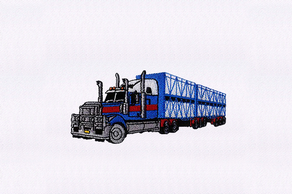 Download Free Trailer Truck Vehicle Creative Fabrica for Cricut Explore, Silhouette and other cutting machines.