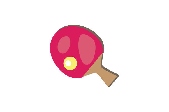 Ping Pong Paddle Games Craft Cut File By Creative Fabrica Crafts