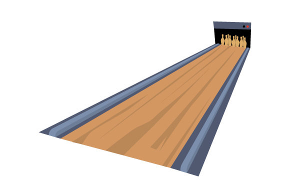 Bowling Lane Games Craft Cut File By Creative Fabrica Crafts