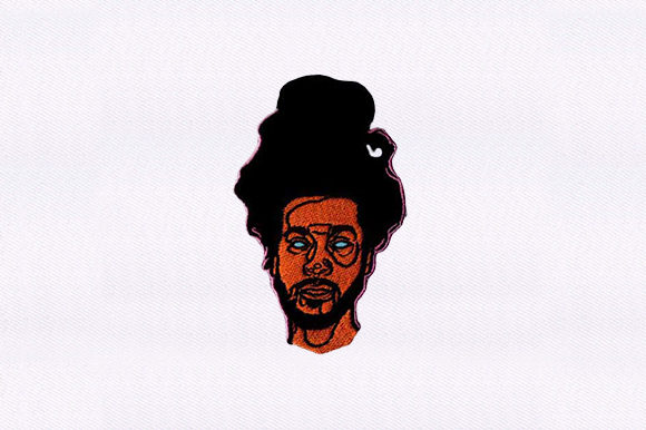 Download Free Afro Hair Man Creative Fabrica for Cricut Explore, Silhouette and other cutting machines.