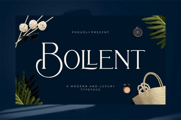 Print on Demand: Bollent Serif Font By Fype Co.