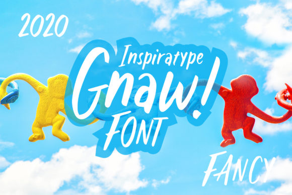 Print on Demand: Gnaw Display Font By InspiraType