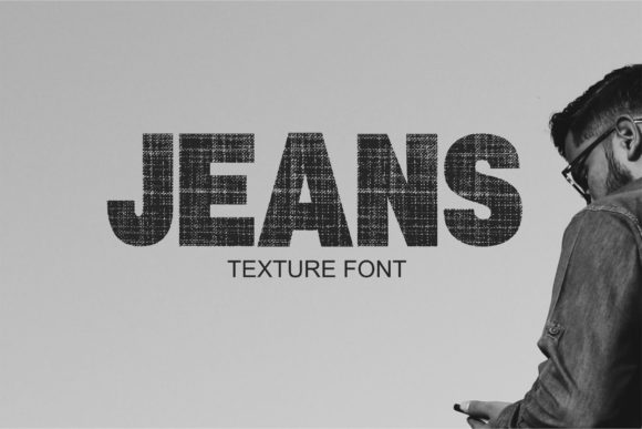 Print on Demand: Jeans TM Decorative Font By Typography Morozyuk