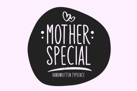 Print on Demand: Mother Special Display Font By Seemly Fonts