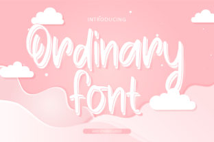 Print on Demand: Ordinary Script & Handwritten Font By Asd Studio