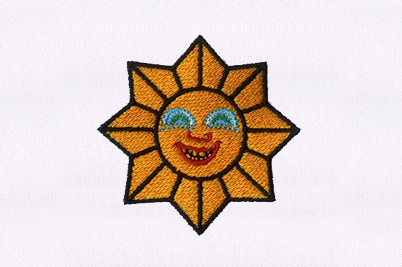 Download Free Smiling Sun Creative Fabrica for Cricut Explore, Silhouette and other cutting machines.