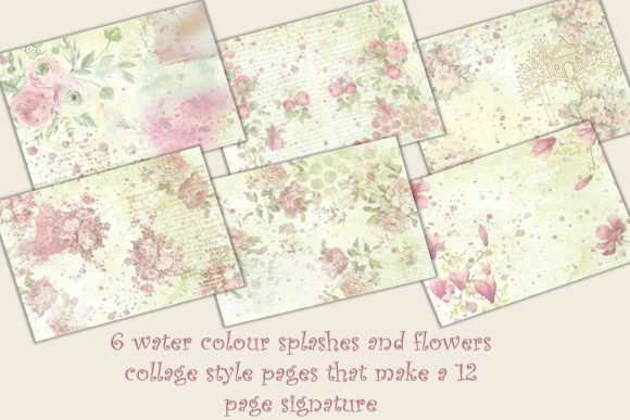 Download Free 12 Shabby Chic Backgrounds Graphic By The Paper Princess for Cricut Explore, Silhouette and other cutting machines.