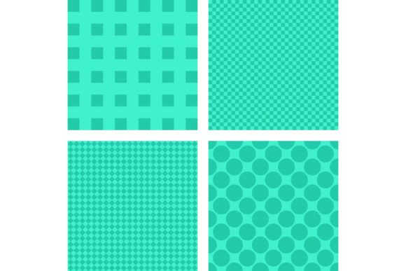 4 Simple Turquoise Abstract Backgrounds Gráfico Fondos Por davidzydd