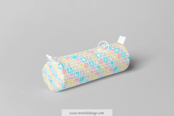 Print on Demand: Baby Candy Colors Digital Papers Graphic Backgrounds By Mutchi Design - Image 3