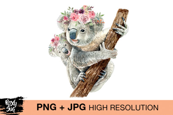 Print on Demand: Baby Koala Graphic Crafts By roxysvg26 - Image 1