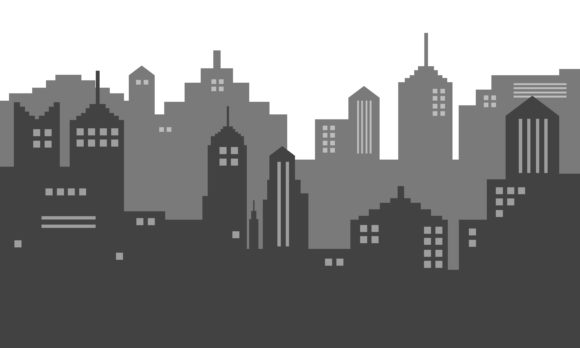Download Free Background Vector Of City Town Graphic By Cityvector91 SVG Cut Files