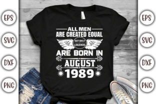 Print on Demand: Birthday T-shirt Design- Allmen Are Graphic Print Templates By GraphicsBooth