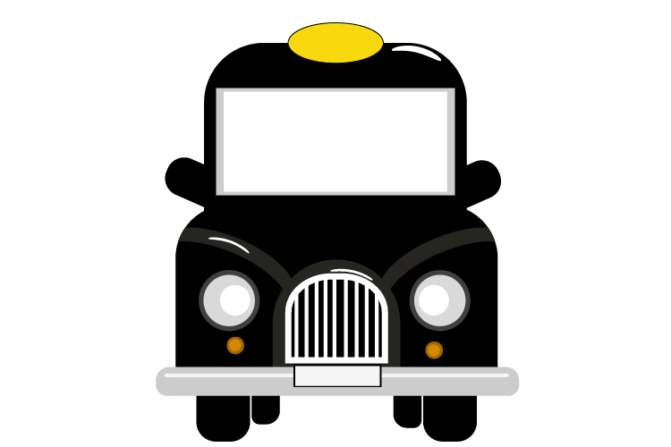 Download Free Cab Element Black Car Vector Taxi Graphic By Igraphic Studio for Cricut Explore, Silhouette and other cutting machines.
