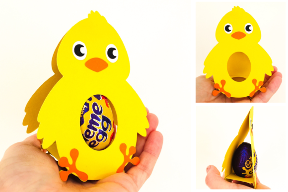 Download Free Chick Egg Holder Design Graphic By Digital Gems Creative Fabrica SVG Cut Files