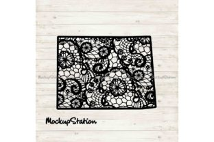 Download Free Colorado Lace Mandala Cut File Graphic By Mockup Station for Cricut Explore, Silhouette and other cutting machines.