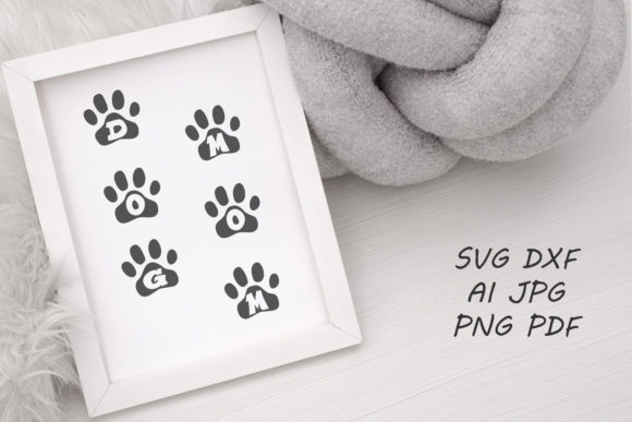 Print on Demand: Dog Mom Graphic Graphic Crafts By Tanja Dianova