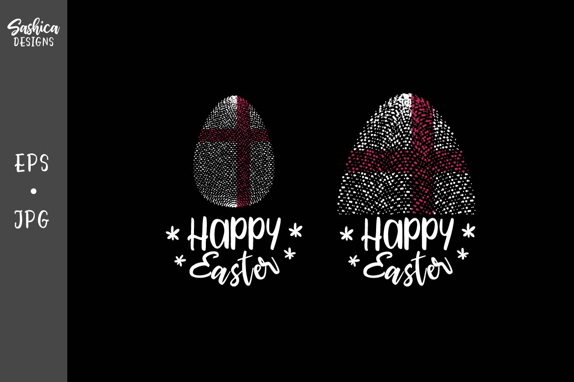 Download Free Easter Egg With England Flag Vector Graphic By Sashica Designs for Cricut Explore, Silhouette and other cutting machines.