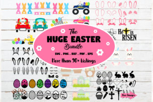 Huge Easter Bundle Easter Bunny  Graphic Crafts By redearth and gumtrees