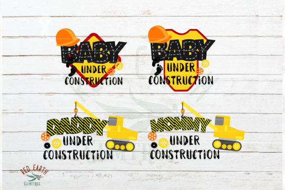 Huge Construction Theme Bundle  Graphic Crafts By redearth and gumtrees - Image 2