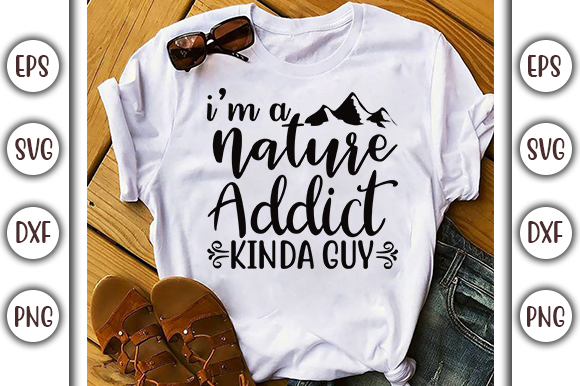 Download Free I M A Nature Adventure Design Graphic By Graphicsbooth for Cricut Explore, Silhouette and other cutting machines.