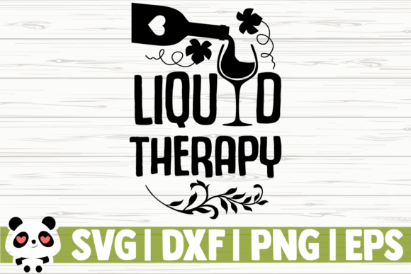 Print on Demand: Liquid Therapy Graphic Illustrations By CreativeDesignsLLC