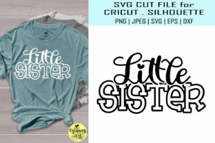 Little Sister Shirt Graphic By Midmagart Creative Fabrica
