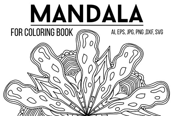 Print on Demand: Mandala Graphic Graphic Coloring Pages & Books Adults By stanosh - Image 1
