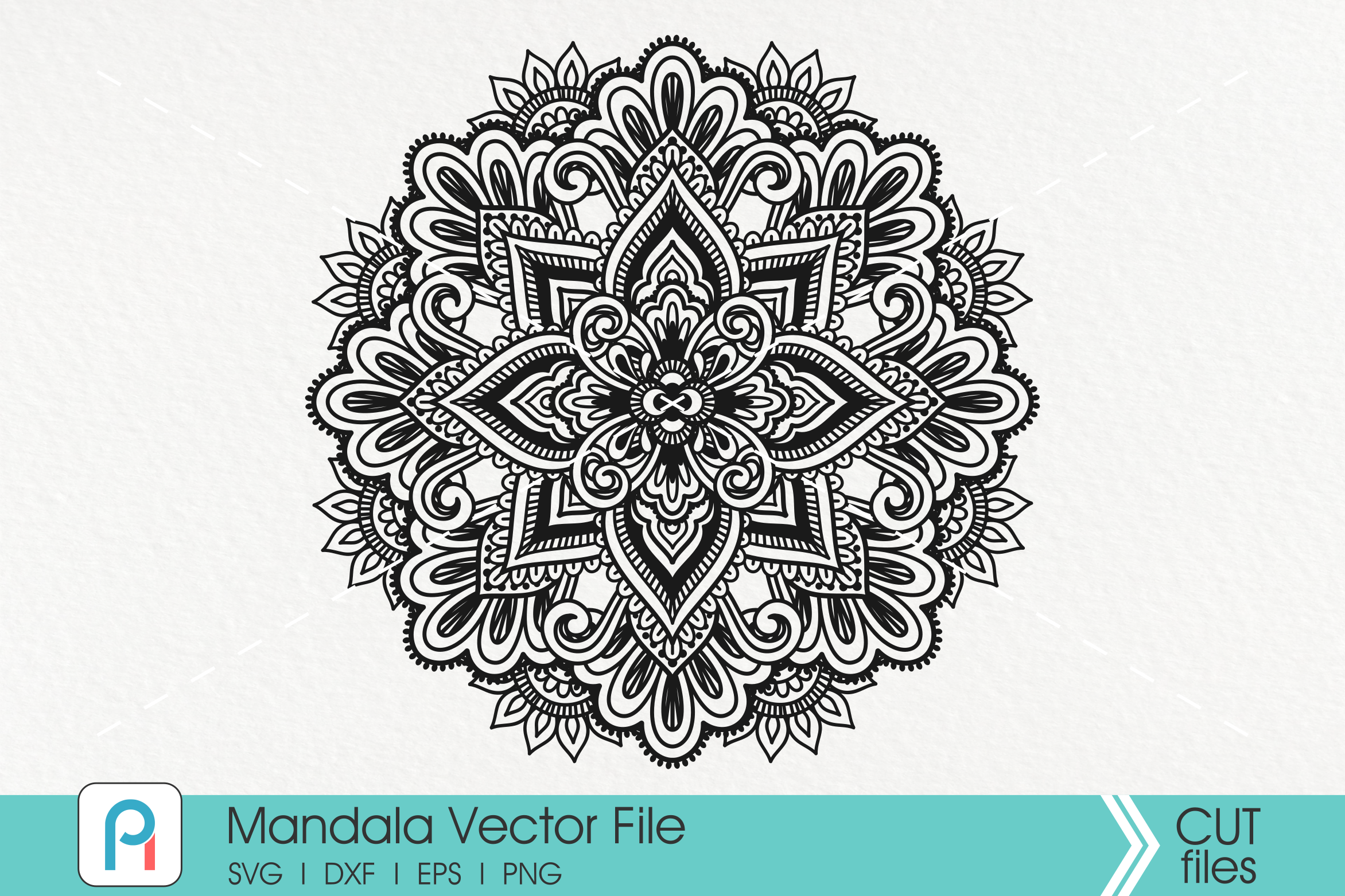 Download Free Mandala Zentangle Graphic By Pinoyartkreatib Creative Fabrica for Cricut Explore, Silhouette and other cutting machines.