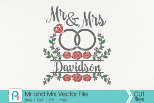 Download Free Mr And Mrs Graphic By Pinoyartkreatib Creative Fabrica SVG Cut Files