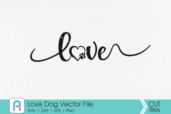 Download Free Paw Dog Lover Graphic By Pinoyartkreatib Creative Fabrica for Cricut Explore, Silhouette and other cutting machines.