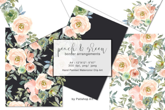 Download Free Watercolor Gray And White Rose Wreath Cl Graphic By Patishop Art for Cricut Explore, Silhouette and other cutting machines.