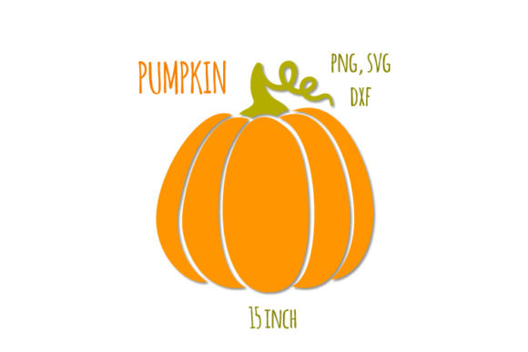 Download Free Pumpkins Thanksgiving Graphic By Bunart Creative Fabrica for Cricut Explore, Silhouette and other cutting machines.