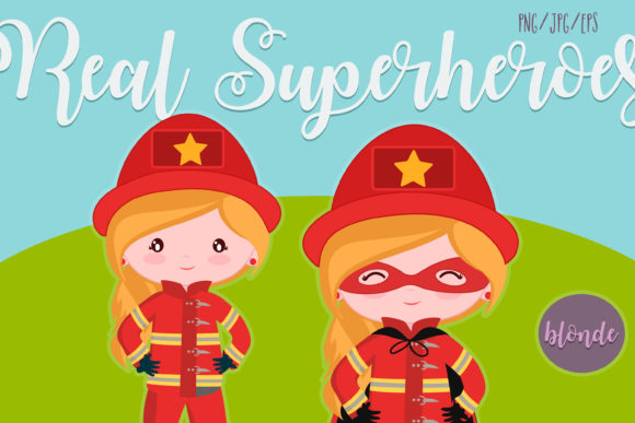 Download Free Real Superheroes Blonde Cliparts Grafico Por Cutelittleclipart for Cricut Explore, Silhouette and other cutting machines.