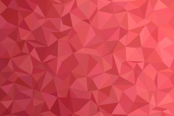 Red Triangle Polygon Background Graphic Backgrounds By davidzydd