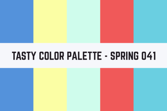 Print on Demand: Solids Tasty Color Palette - Spring 041 Graphic Textures By RefreshUp