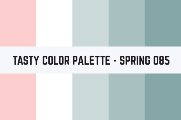 Print on Demand: Solids Tasty Color Palette - Spring 085 Graphic Textures By TastyColorPalettes