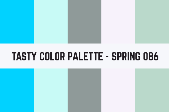 Print on Demand: Solids Tasty Color Palette - Spring 086 Graphic Textures By TastyColorPalettes