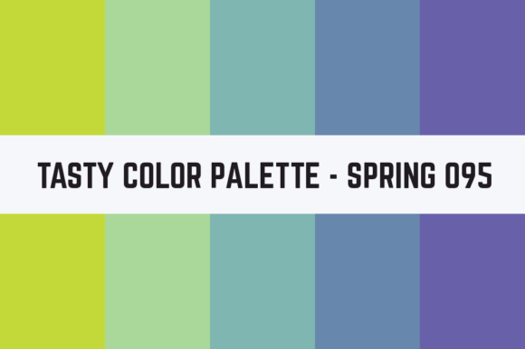 Print on Demand: Solids Tasty Color Palette - Spring 095 Graphic Textures By TastyColorPalettes