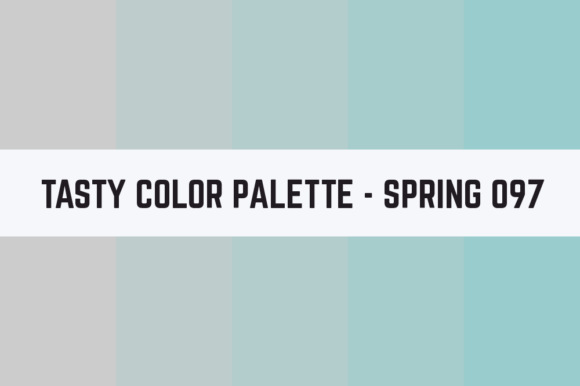 Print on Demand: Solids Tasty Color Palette - Spring 097 Graphic Textures By TastyColorPalettes